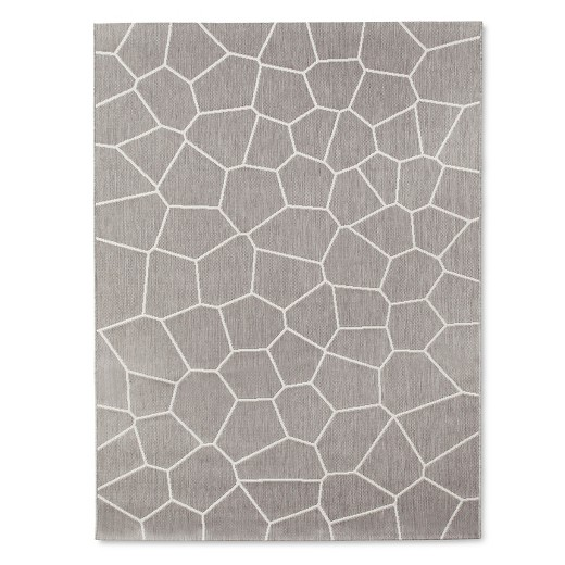 Outdoor Rug 5'x7' ... - Outdoor Rug 5'x7' Gray - Modern By Dwell Magazine : Target