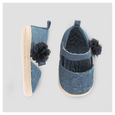 Baby Girls' Espadrille - Just One You™ Made by Carter's® Blue 1