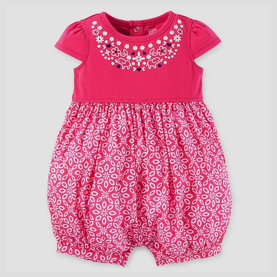 Baby Girls' Romper - Just One You™ Made by Carter's® Pink NB