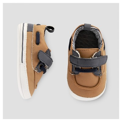 Baby Boys' Deck Shoe - Just One You™ Made by Carter's® Brown/Blue 2