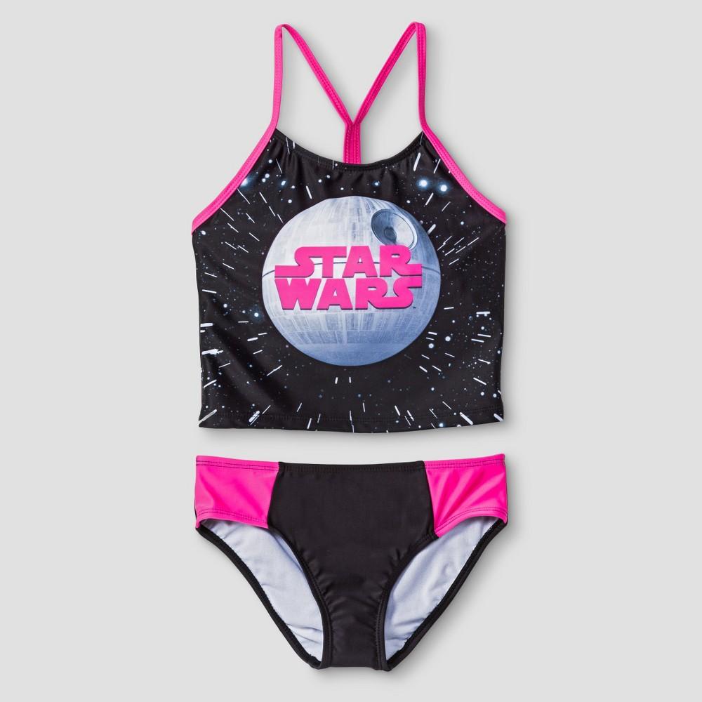 Girls Star Wars Tankini - Black L