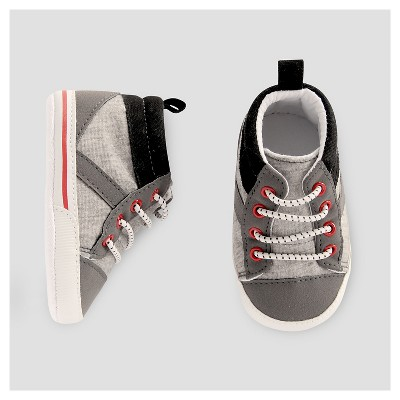 Baby Boys' High Top - Just One You™ Made by Carter's® Gray/Black 3-6M