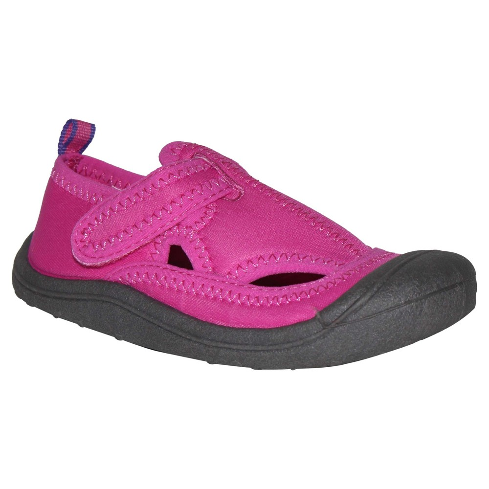 Toddler Girls Cat & Jack Cass Water Shoes - Cat & Jack - Pink L(9-10), Size: L 9-10