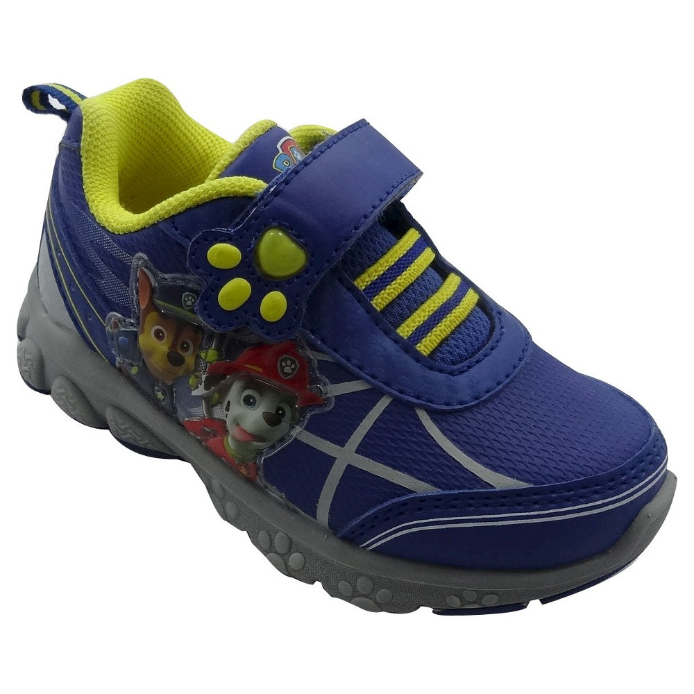 Paw Patrol Toddler Boys Athletic Sneakers - Blue 6