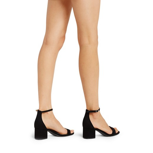 a5db666d9c2 Women s Marcella Low Block Heel Pumps with Ankle Straps - Merona .