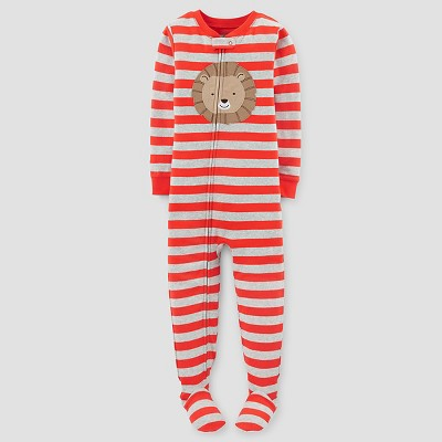 Just One You™ Made by Carter's® Baby Boys' One Piece Snug Fit Cotton Pajama Lion - 9M