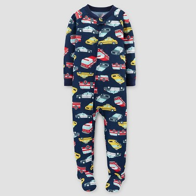 Just One You™ Made by Carter's® Baby Boys' One Piece Jersey Pajama Automobiles - 9M