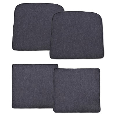 Halsted 4 Piece Outdoor Small Space Chat Cushion Set   Threshold™