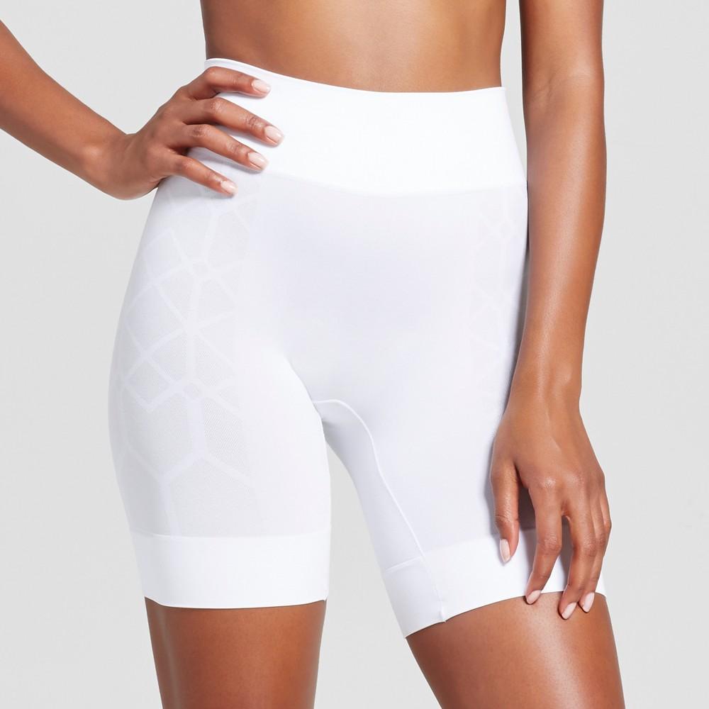 Jky by Jockey Womens Wicking Slipshort - White L