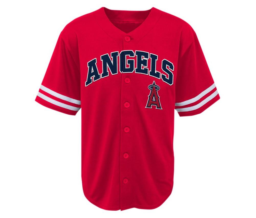 Los Angeles Angels of Anaheim Boys' Team Jersey L