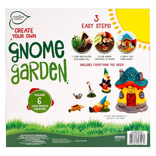 Create Your Own Gnome Garden Multi Color Creative