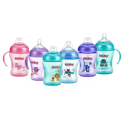 Nuby Natural Touch 3 Stage Bottle-to-Cup