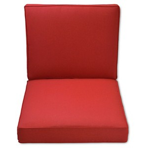 Halsted Outdoor Deep Seating Cushion Set - Red - Threshold