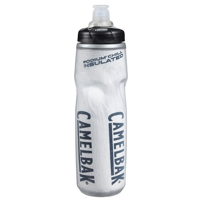 CamelBak Podium Big Chill Water Bottle 25oz - White/Black