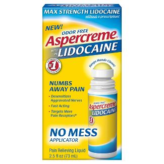 Aspercreme Lidocaine with No Mess Applicator - 2.5oz.