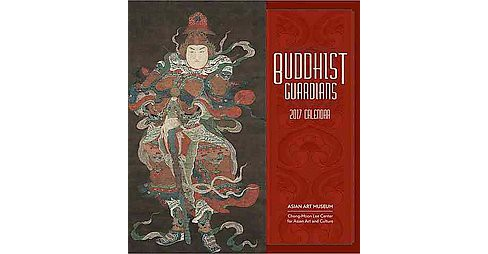 Buddhist Guardians 2017 Calendar (Paperback) - image 1 of 1