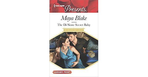 Di Sione Secret Baby (Larger Print) (Paperback) (Maya Blake) - image 1 of 1