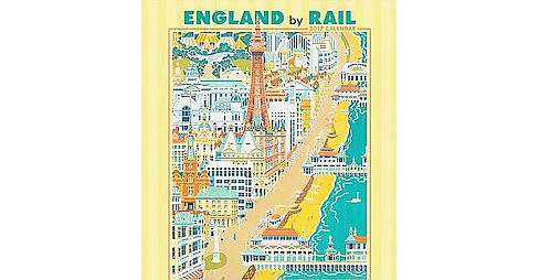 England by Rail 2017 Calendar (Paperback) - image 1 of 1