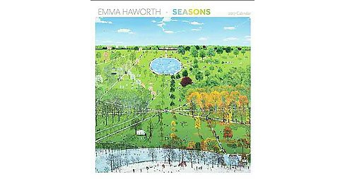 Emma Haworth - Seasons 2017 Calendar (Paperback) - image 1 of 1