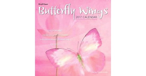 Butterfly Wings 2017 Calendar (Paperback) - image 1 of 1