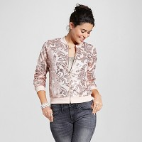 Women's Sequin Bomber Rose Gold - Xhilaration (Juniors'). opens in a new tab.