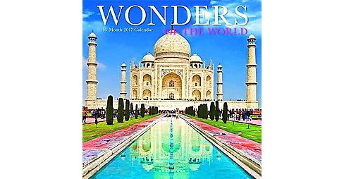 Wonders of the World 2017 Calendar (Paperback) - image 1 of 1