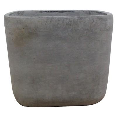 7.1  Square Tabletop Concrete Planter - Gray - Smith & Hawken™