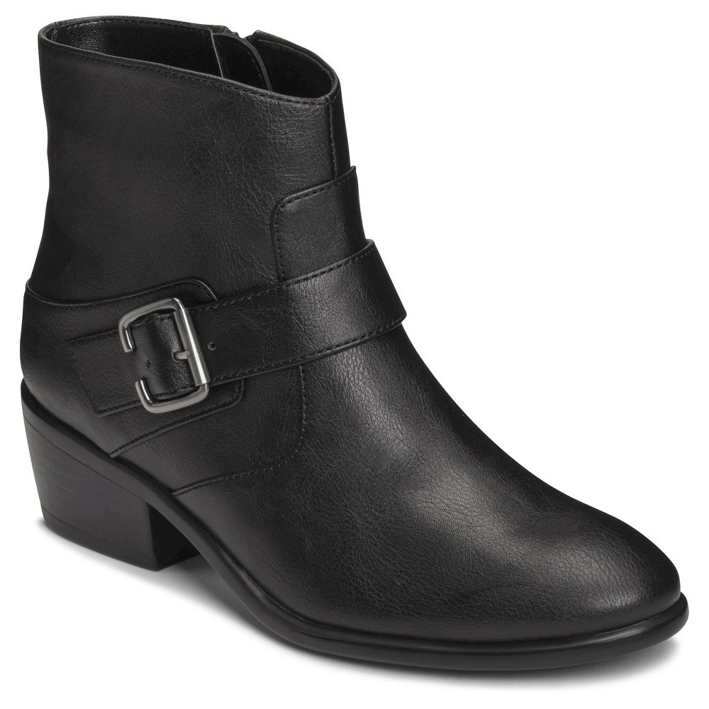 Womens A2 by Aerosoles My Way Ankle Boots - Black 10.5