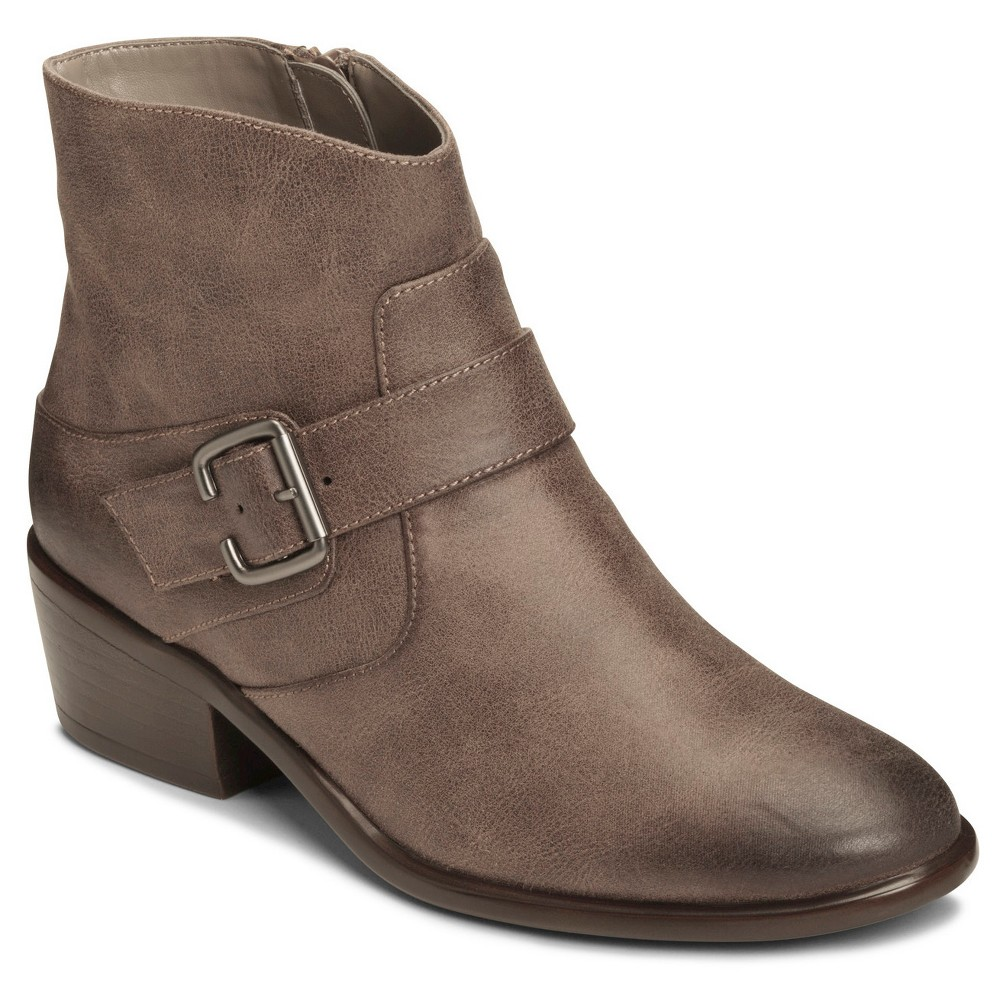 Womens A2 by Aerosoles My Way Ankle Boots - Taupe Brown 10