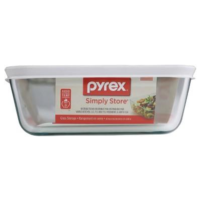 Pyrex Storage Plus 6Cup 1.42L Rct PC-White