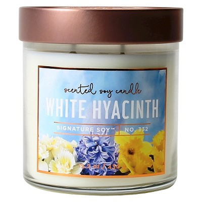 Jar Candle White Hyacinth 15.2oz - Signature Soy®