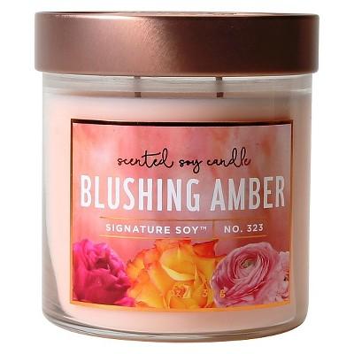 Jar Candle Blushing Amber 15.2oz - Signature Soy®