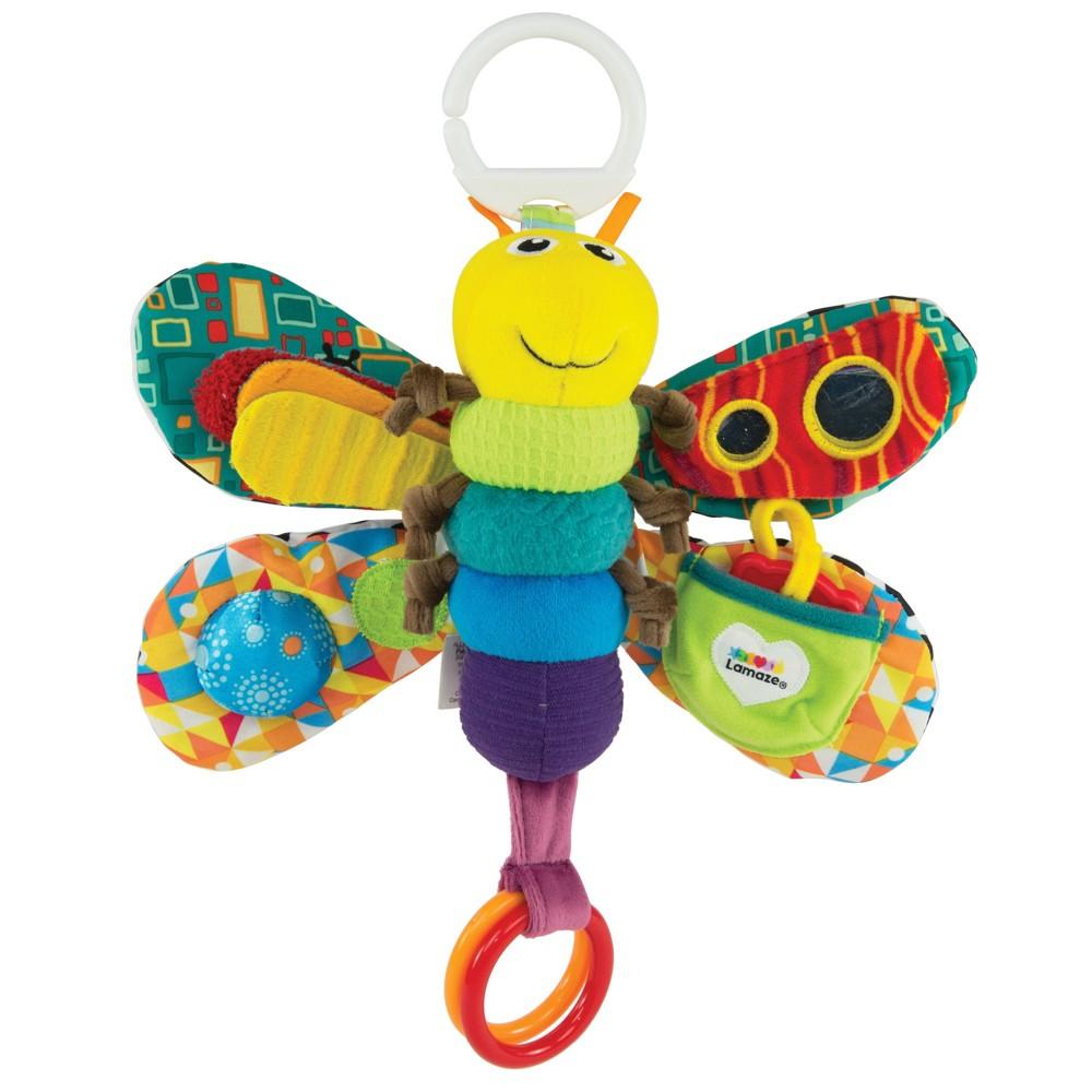 Lamaze Clip & Go Freddie the Firefly Sensory Development Baby Toy