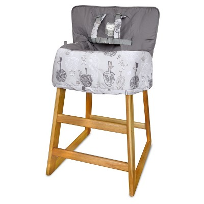 Eddie Bauer Shopping Cart & High Chair Cover-Gray