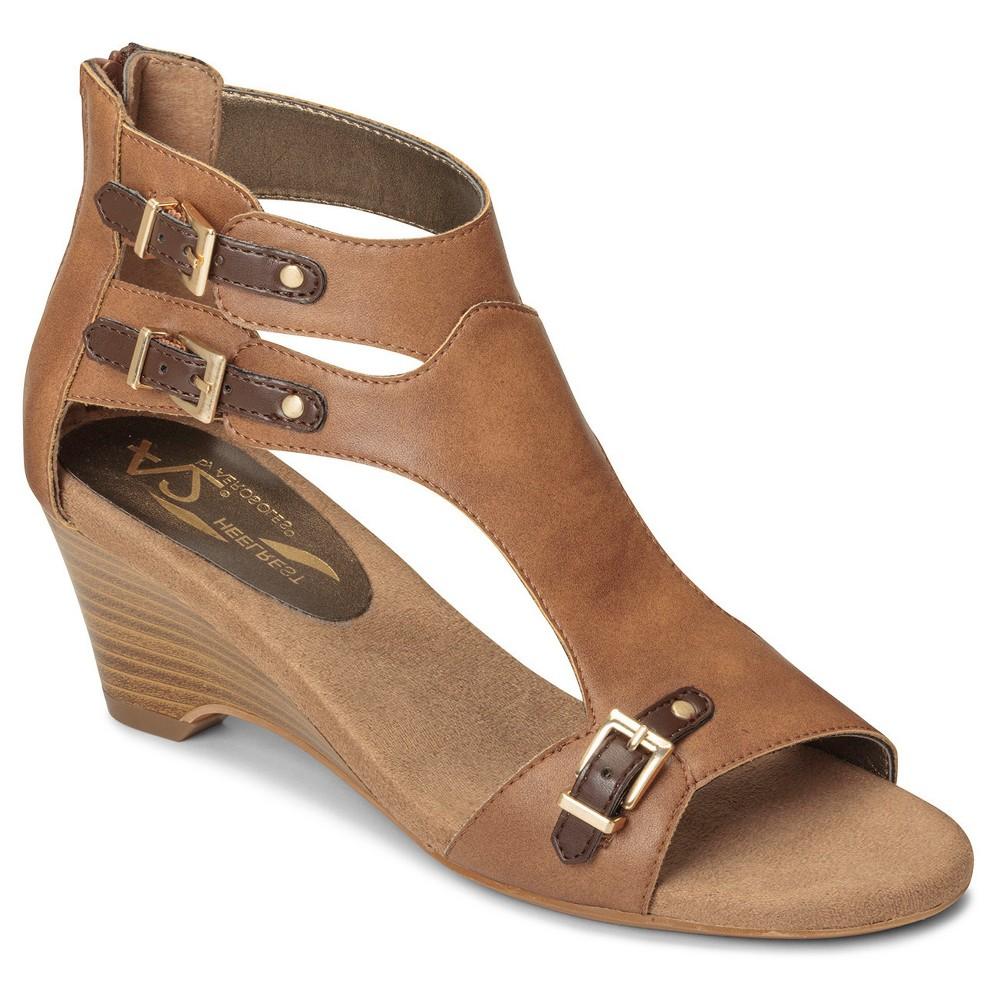 Women's A2 by Aerosoles Mayflower Gladiator Sandals - Tan 6.5