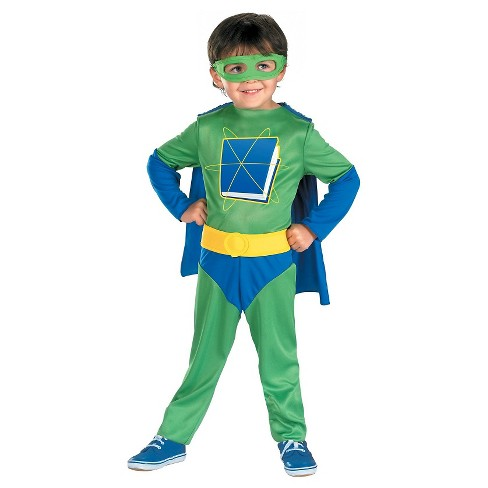 Toddler Boys' Super Why  Child Costume S - image 1 of 1