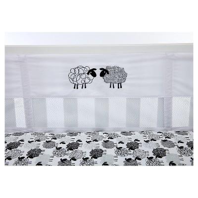 NoJo® Good Night Sheep Secure-Me Crib Liner