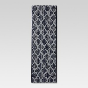 Runner Outdoor Rug - Brushed Diamond Blue - Threshold