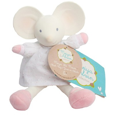 Meiya & Alvin™ Meiya the Mouse Mini Plush Toy - Cream