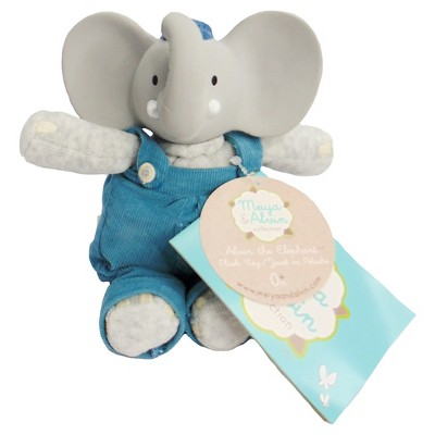 Meiya & Alvin™ Alvin the Elephant Mini Plush Toy - Gray