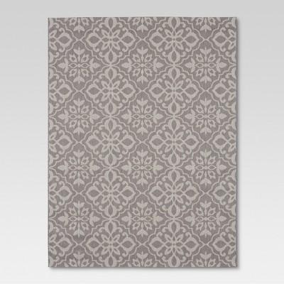 9'x12' Outdoor Rug - Mosaic Gray - Threshold™