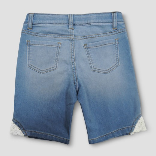 Girls' Jean Shorts - Cat & Jack™ Light Denim : Target