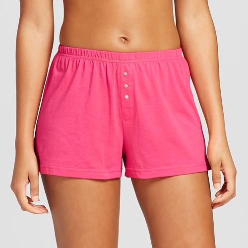 Women's Knit Pajama Short Pink XS - Xhilaration