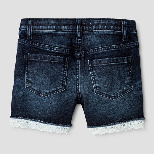 Girls' Jean Shorts - Cat & Jack™ Dark Blue : Target