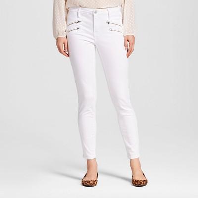 Burgundy skinny jeans target