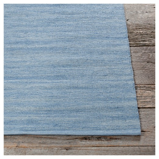 Chandra India 7 Hand-Woven Cotton Area Rug - Blue - Chandra India 7 Hand-Woven Cotton Area Rug - Blue : Target