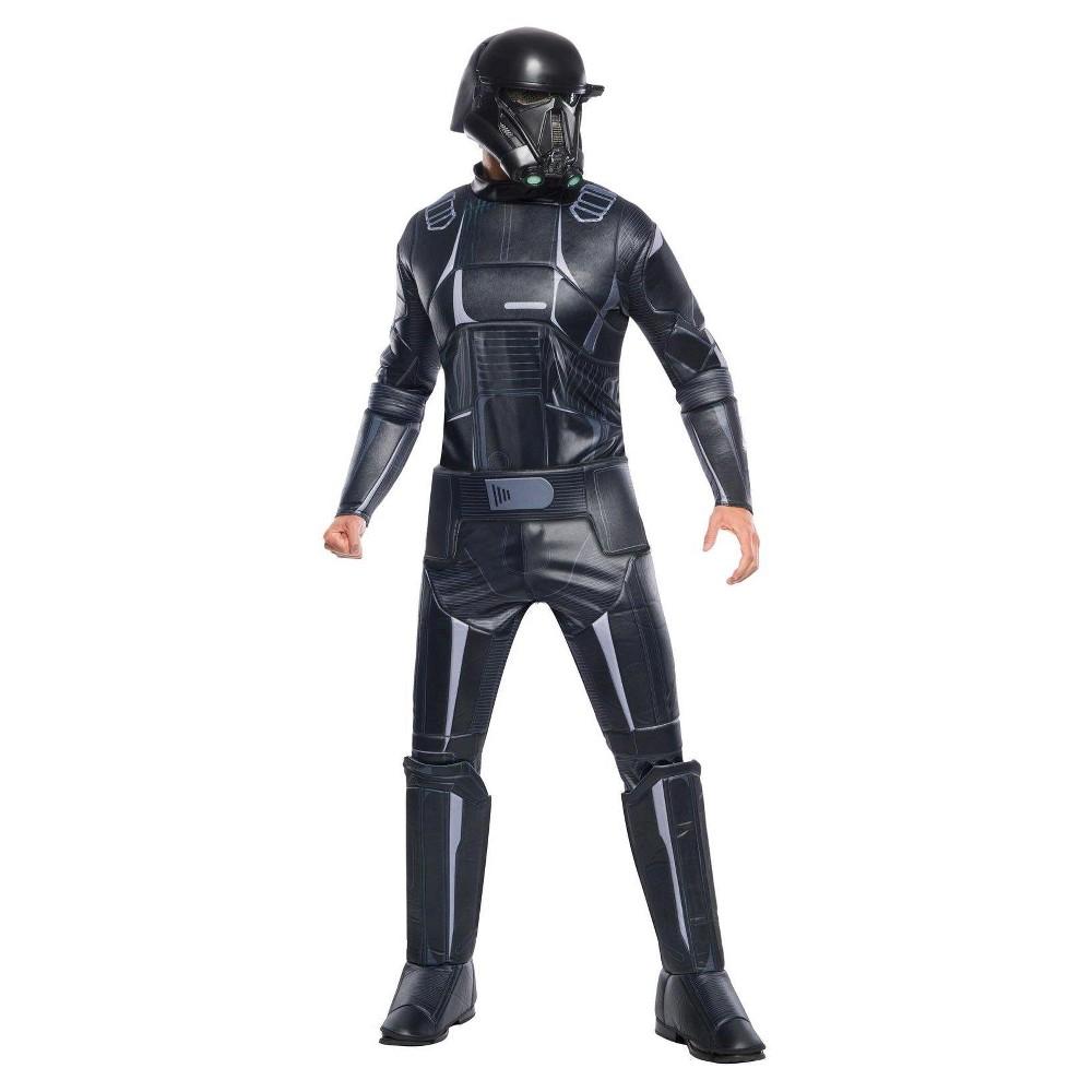 Star Wars Rogue One Shark Trooper Deluxe Adult Costume Medium, Mens, Multicolored
