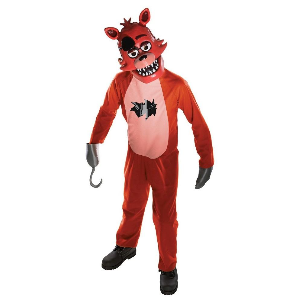 Five Nights at Freddys Foxy Child Costume M(8-10), Boys, Multicolored