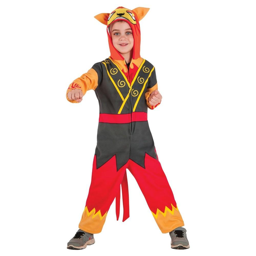 Yo Kai Watch Blazion Child Costume L(12-14), Kids Unisex, Multicolored