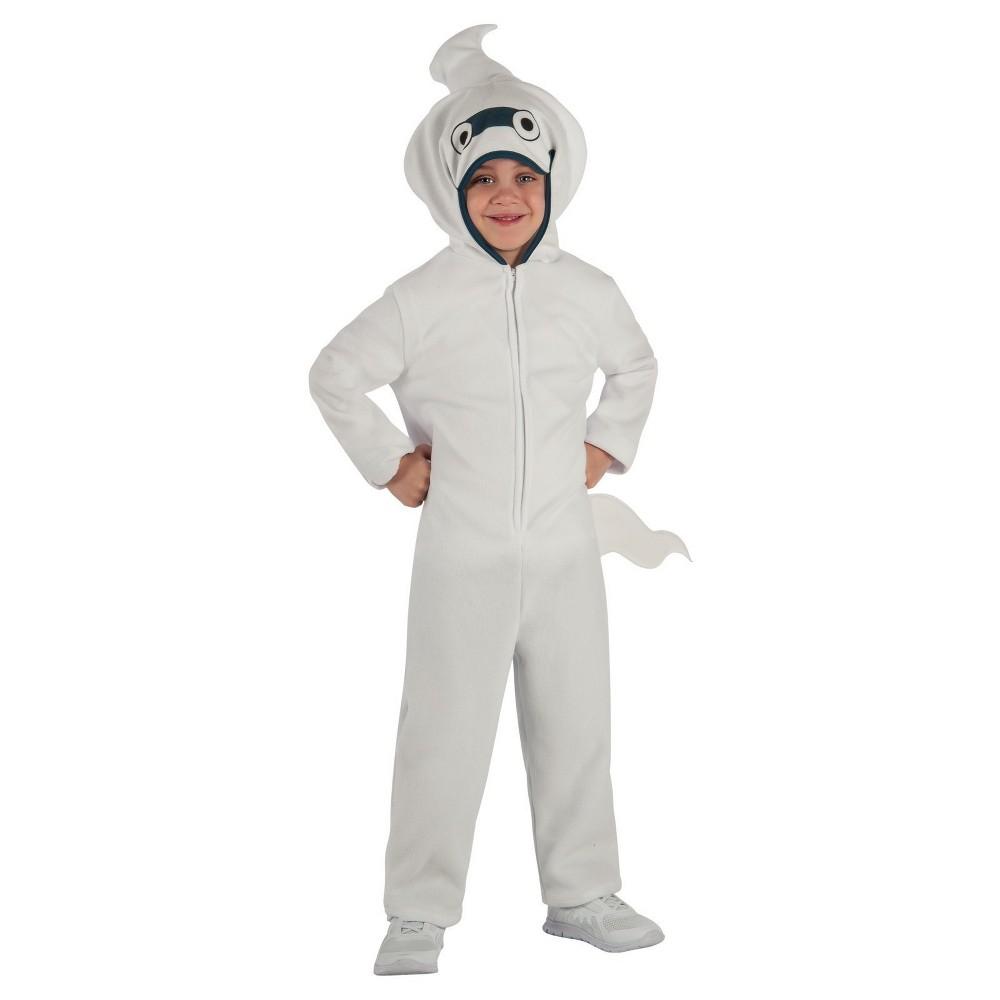 Yo Kai Watch Whisper Child Costume White - Small (4-6), Kids Unisex, Size: S(4-6), Multicolored